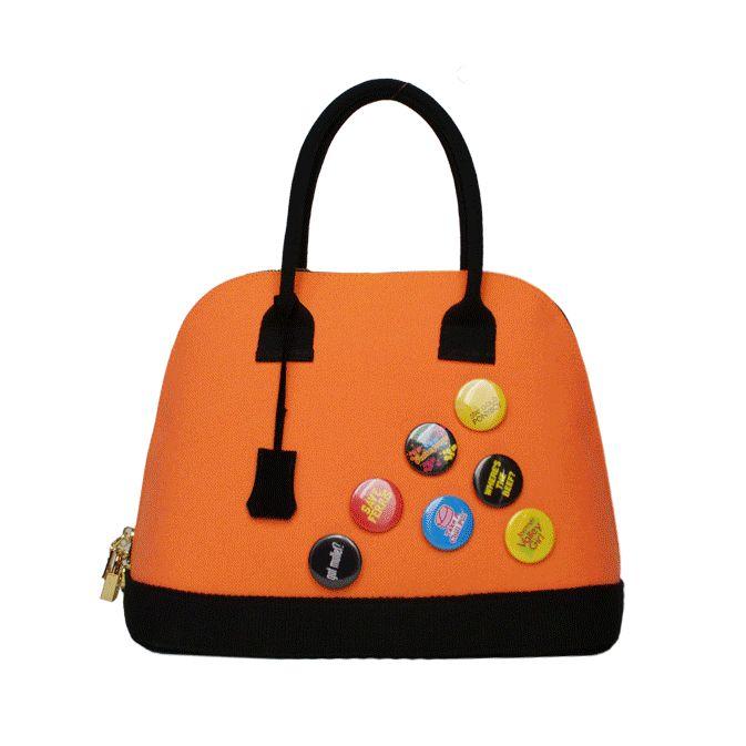 LeZirreNapoli_bags_borse_LaRigida_orange_texture