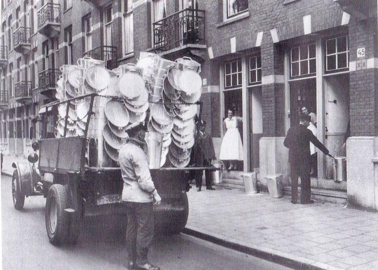1932 iedereen kreeg een vuilnisbak in 1937 had alle huizen er een
