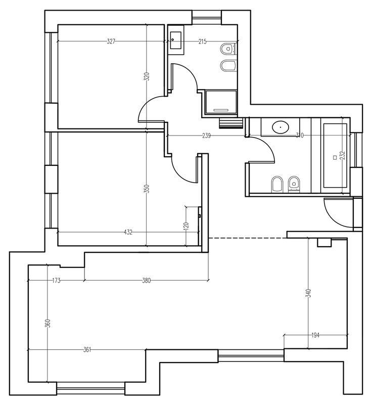Oltre 25 fantastiche idee su planimetrie dell 39 appartamento for Planimetrie della casa plurifamiliare