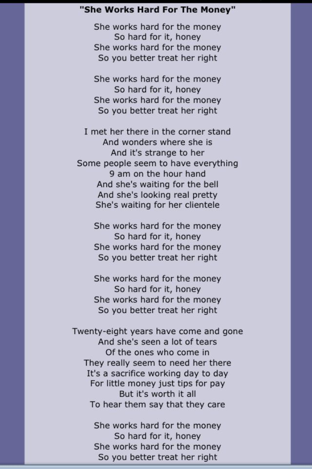 lyrics to donna