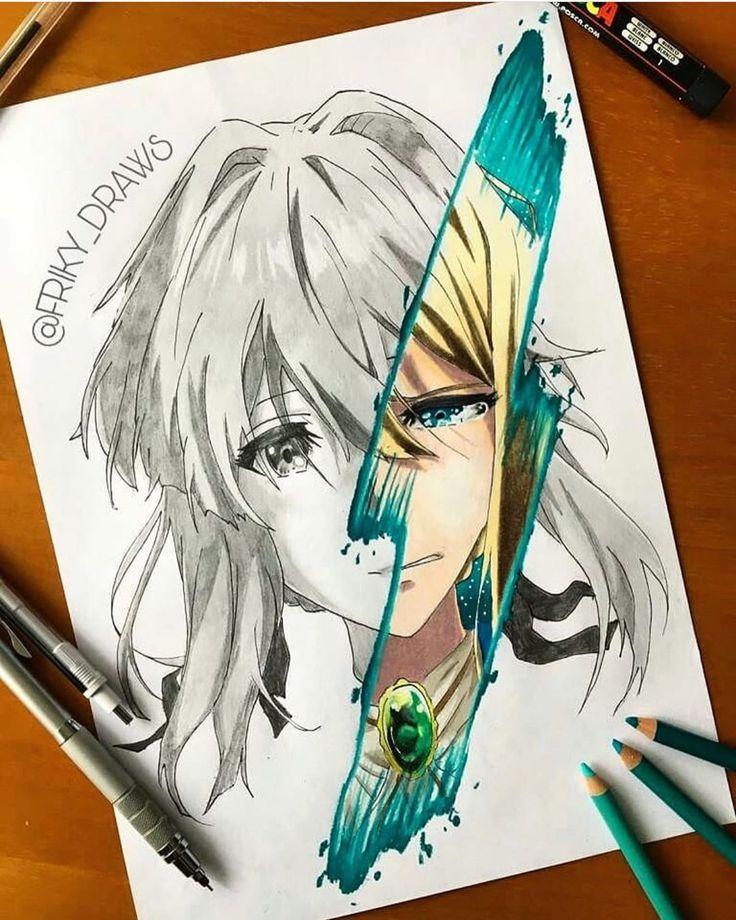#animesketch #animefanart #fanart #mha #sao #aot #shonen #kawaii #animegirl #animegirls #hxh # ...