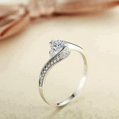 Sad I Already Have A Ring Like This It Would Make Such Beautiful Engagement Simple Understated And Elegant
