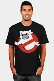 Pugbusters Mens T Shirts