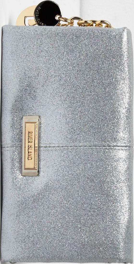 •Website: http://www.cuteandstylishbags.com/portfolio/river-island-silver-glitter-soft-foldover-purse/ •Item: River Island Silver Glitter Soft Foldover Purse