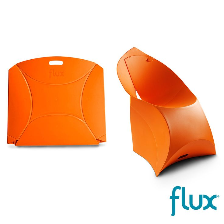 Flux Chair #orange design available at AllModernOutlet.com