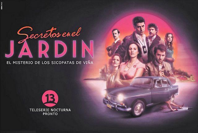 Afiche de Secretos en el Jardín by Teleserieschile, via Flickr