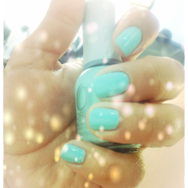 """Orly """"Gumdrop"""" perfect mint color for the summer!!"""