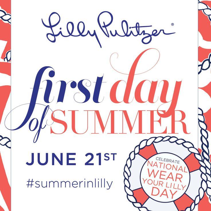 Happy first day of summer! #summerinlilly