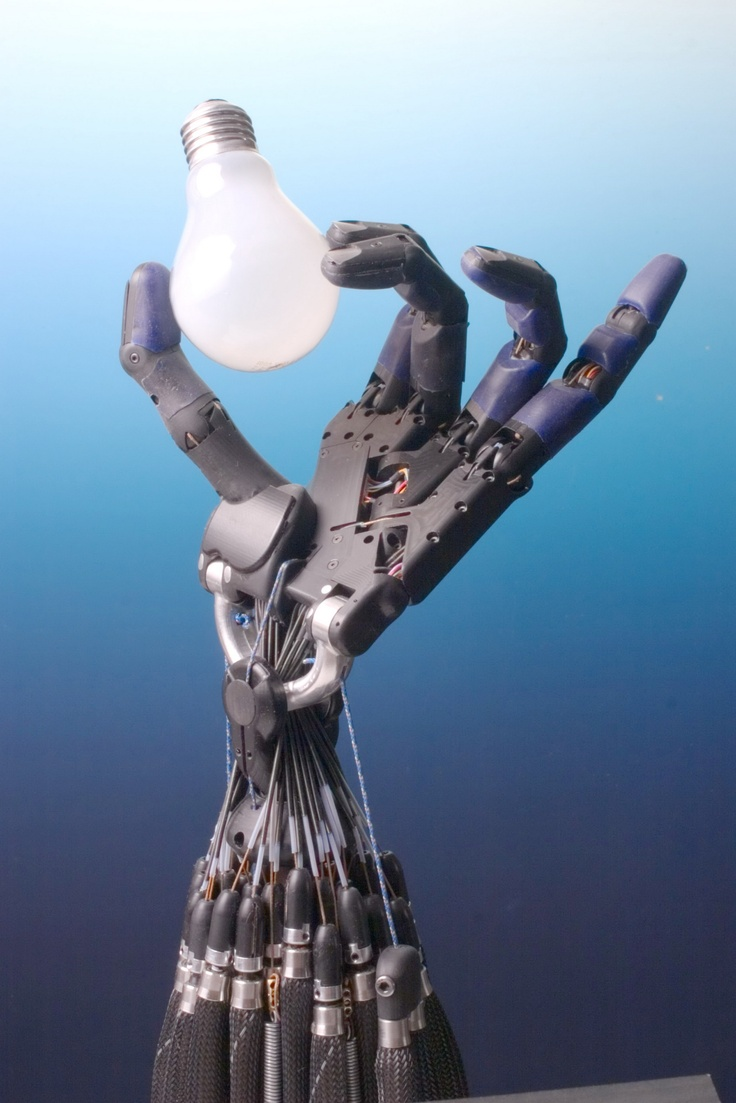 how to create a robotic hand