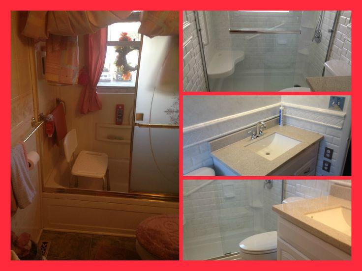 Best Before And After Images On Pinterest Bathroom Remodeling - Bathroom remodel roanoke va