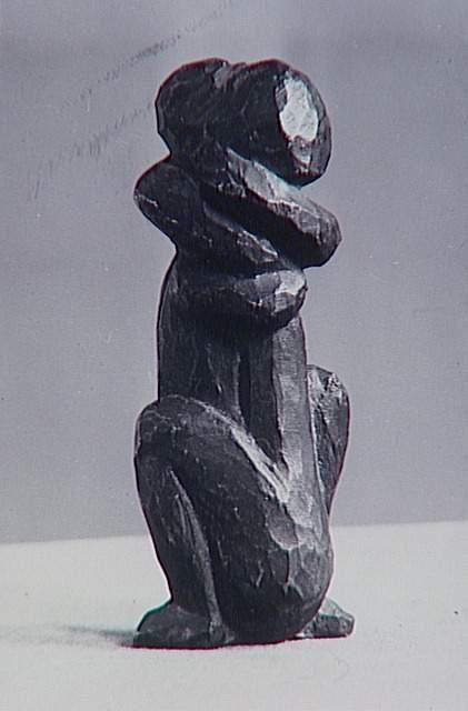 """""""Couple"""" (bronze, 1930) de Picasso, atelier des Grands-Augustins Brassaï (dit), Halasz Gyula (1899-1984) Paris, musée Picasso"""