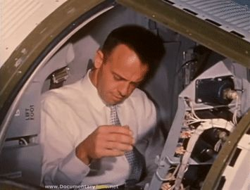 """Seven men emerged from this competitive purgatory as the as the Project Mercury astronauts… This is the beginning for each of them."" MERCURY SEVEN: The Story of NASA's Astronauts"