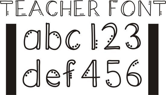 Teach Junkie - 42 Free Fonts for Teachers {Goodie Bag} - like this one a lot!