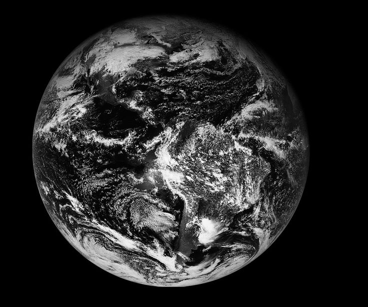 GOES East Full Disk image from 12:45 p.m. EST, Jan 15, 2017. Credit: NOAA/NASA
