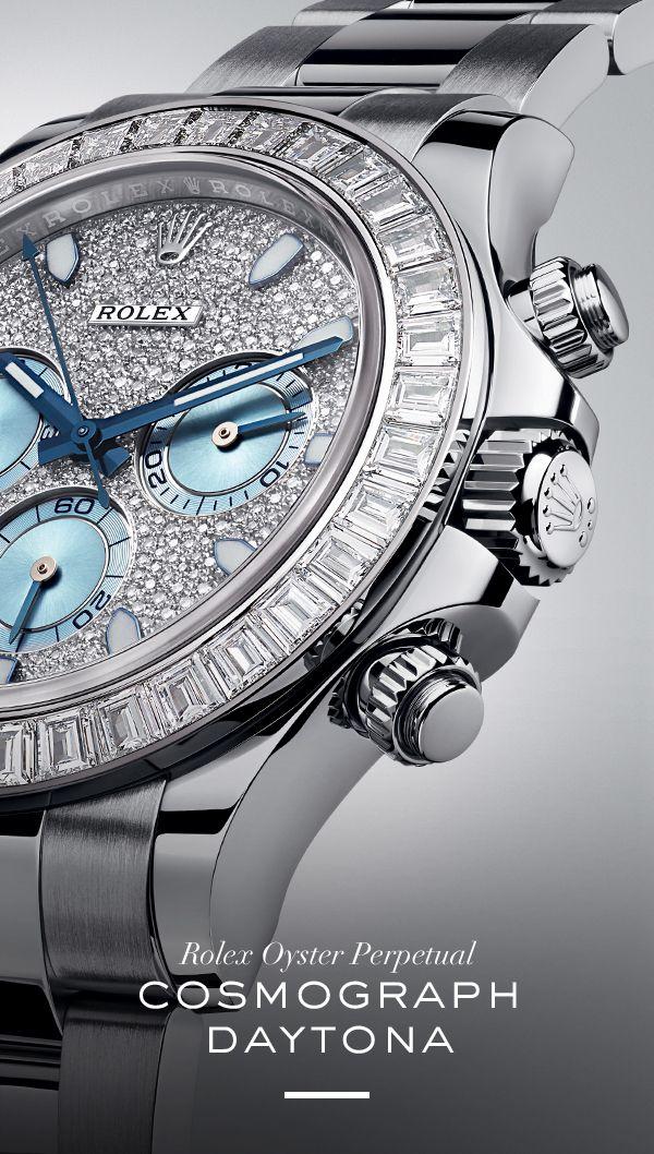 The new Rolex Cosmograph Daytona. #RolexOfficial #Baselworld