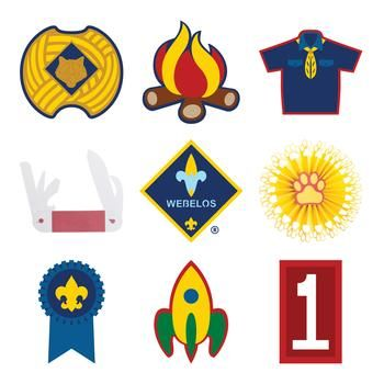 Cricut® now has officially licensed Cub Scout and Boy Scout images. Embellish your Cub Scout's scrapbook or make party favors and decorations!