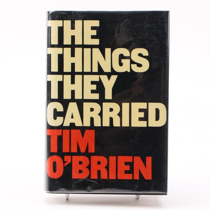 the things they carried book analysis The things they carried by tim o'brien figurative language metaphor: imagination was a killer (o'brien 10) what they metaphorically carried: they carried the common secret of cowardice (o'brien 20.