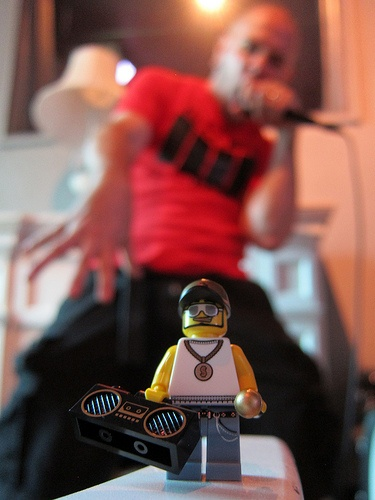 LEGO Collectible Minifigures Series 3 : Rapper