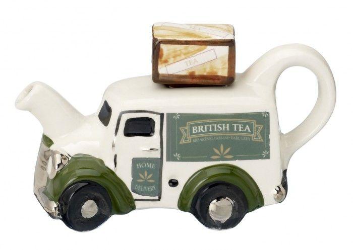 British Tea Van Teapot (One Cup) by Carters of Suffolk