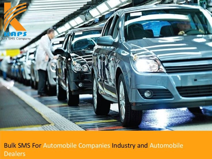 Bulk sms for automobile companies industry and automobile dealers http://www.slideshare.net/Bulk_SMS_Company/bulk-sms-for-automobile-companies-industry-and-automobile-dealers