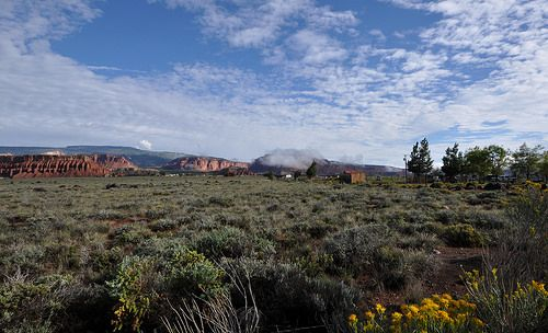 First Sigth of Capitol Reef National Park