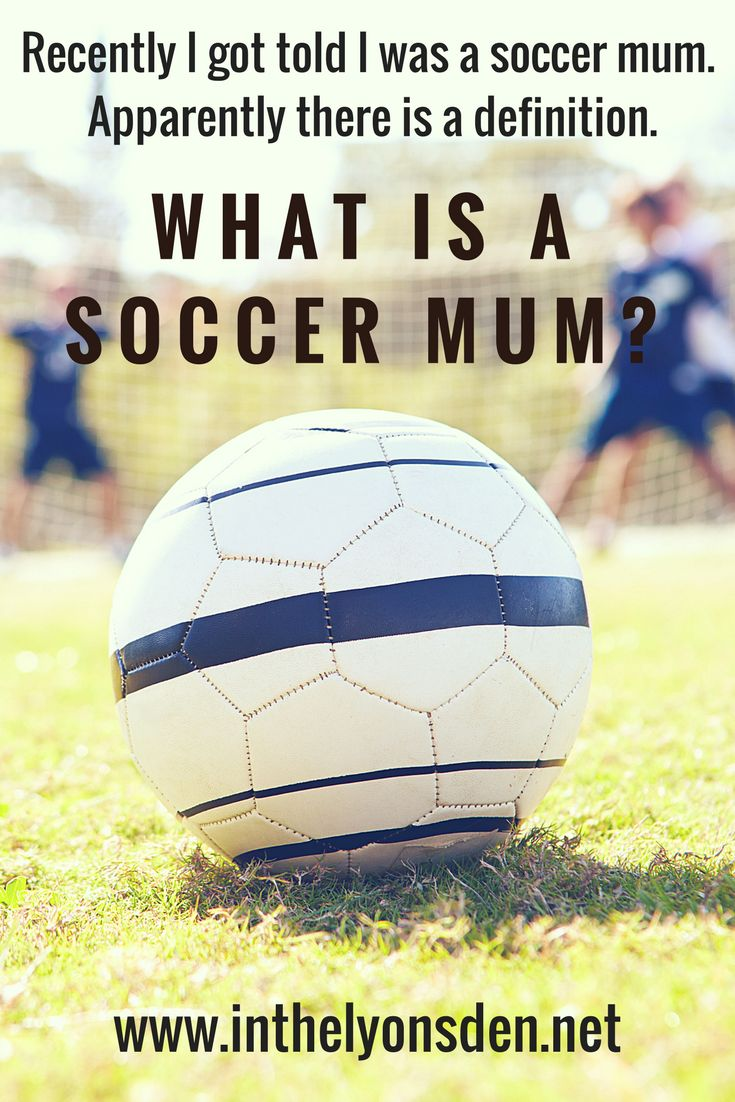 Taking the reigns of soccer mum status