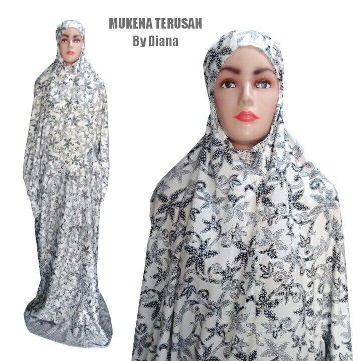 Mukena Terusan Material Semi Sutra Rp 185 Rb 085 222 000 979