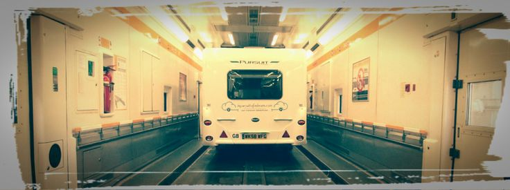 "EuroTunnel in a Caravan. Read more via ""Camping News"""