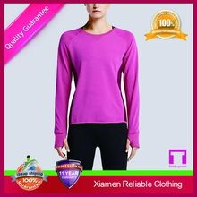 Hot Selling women oversized thin long sleeve blank t shirts  best buy follow this link http://shopingayo.space