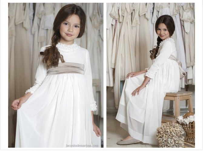 Vestidos de Comunión, Teresa y Leticia, La casita de Martina, Blog Moda Infantil, Carolina Simó