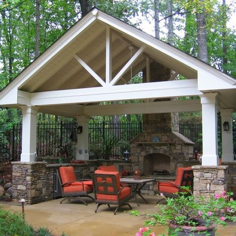 25 best outdoor pavilion ideas on pinterest fire pit gazebo rustic smokers and backyard kitchen - Patio Pavilion Ideas