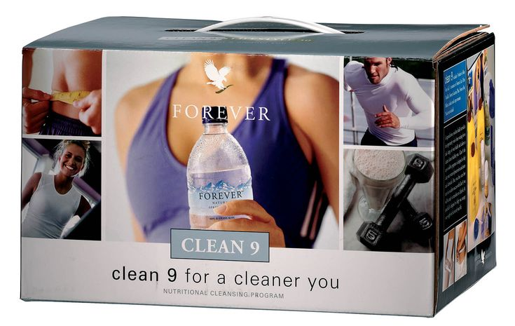 Forever Living Products - Clean 9 Detox. Puts you on track to a cleaner, healthier you, whilst cleansing your body of unnatural chemicals.  Contains: 3 Aloe Vera Gel Forever Lite Ultra Vanilla with Aminotein Garcinia Plus Bee Pollen Shaker and Tape Measure Step by step guide to the Clean 9 Programme  http://www.beforeverfree.myforever.biz/store
