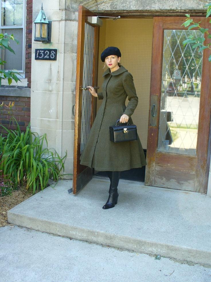 Tea Length Coat