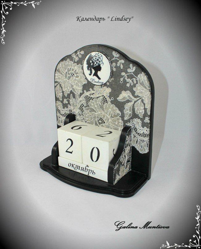 Декупаж - Сайт любителей декупажа - DCPG.RU | Пинок или стимул к совершенствованию Click on photo to see more! Нажмите на фото чтобы увидеть больше! decoupage art craft handmade home decor DIY do it yourself calendar