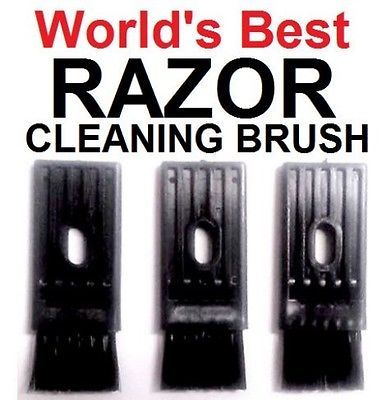 The World's Best Shaver Razor Cleaning Brush Braun Norelco Remington Wahl & More