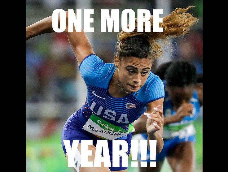 USA Olympian Sydney McLaughlin turned 17 last week.