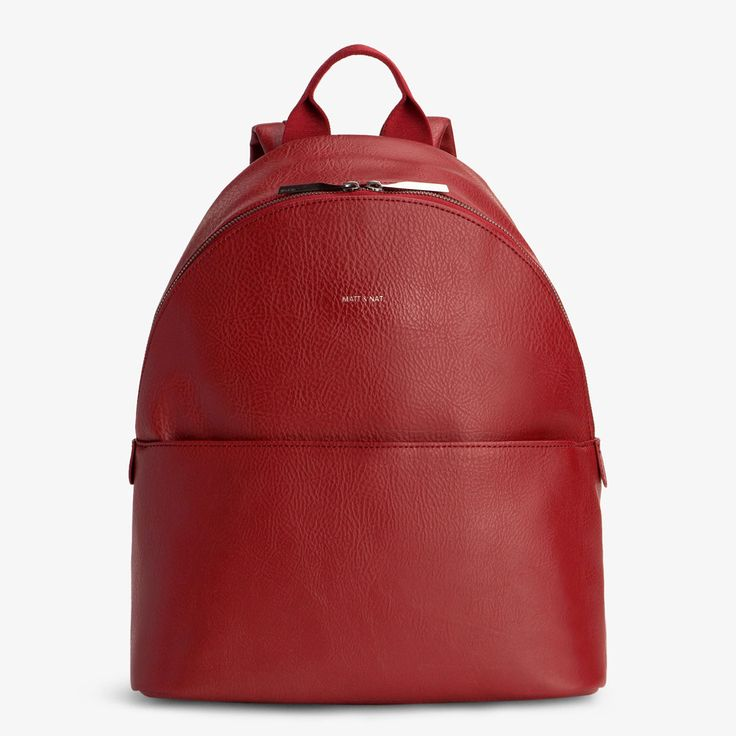 MATT & NAT July Dwell Backpack BORDEAUX | Le Shop Vegan - onlineshop für vegane Taschen