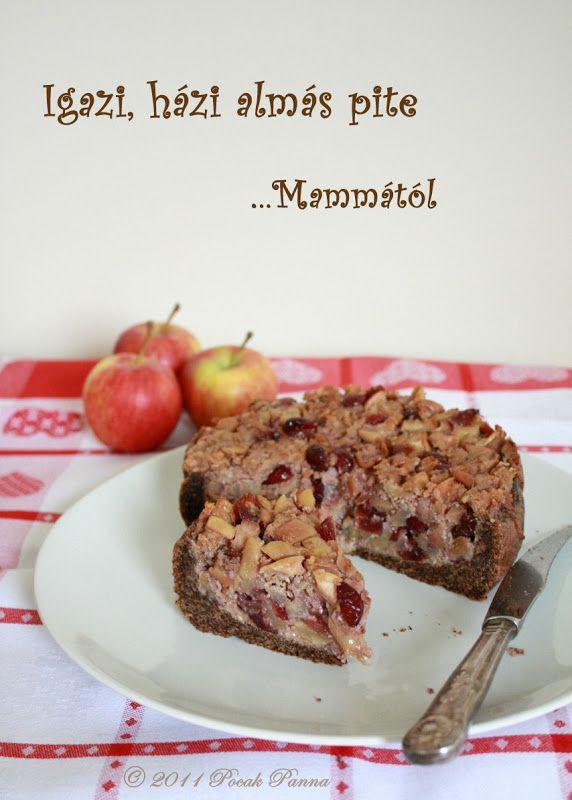 Pocak Panna paleo konyhája: Mamma almás pitéje - mert van, amiből csak a Mammáé a legjobb! (cukor és édesítőszer nélkül, paleo)