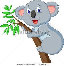 Afbeeldingsresultaat voor koala cartoon