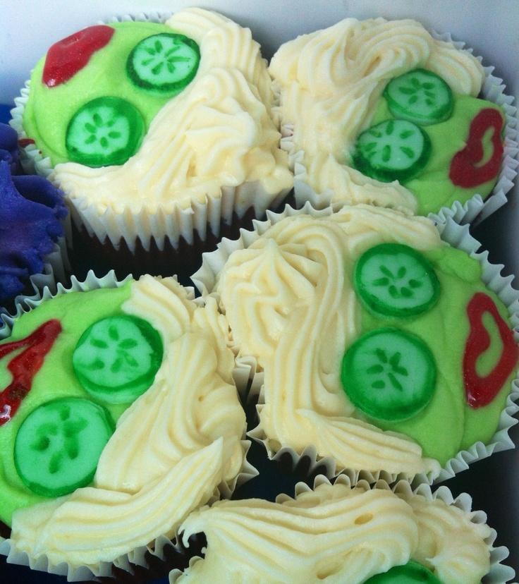 Beauty salon / spa cupcakes