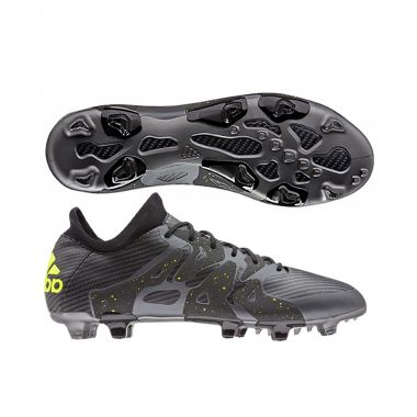 Adidas X 15.1 Cleats Black FG | Cleats | Pinterest | Cleats and Soccer shoes