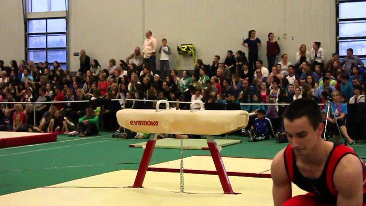 Zachary Clay - Pommel Horse Day One - 2013 Canadian Gymnastics Champions...