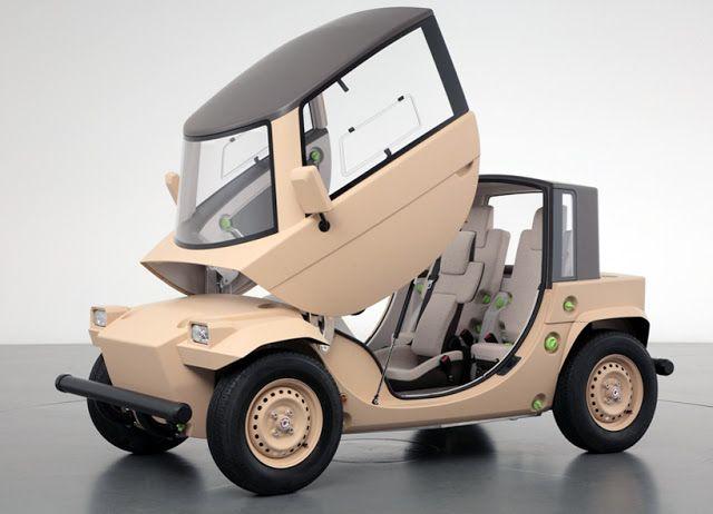 Trendciero: Toyota Camatte para niños