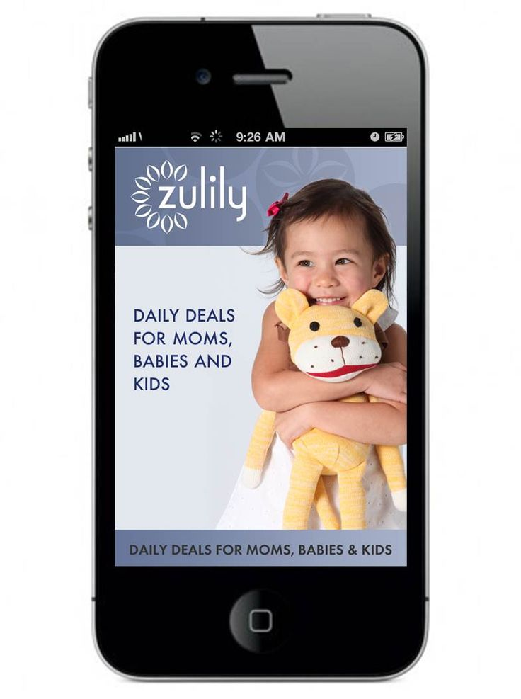 FREE Zulily Mobile App . Shopping for babies & toddlers