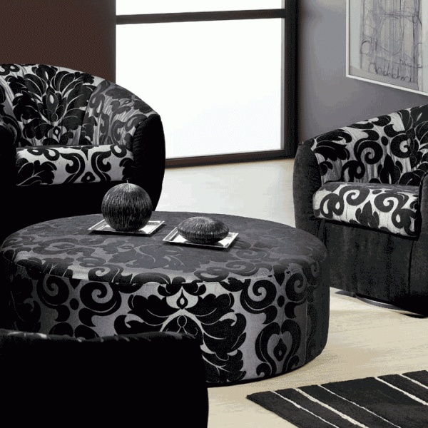 Decoration With Black Furniture Livingroom: Red Black Livingroom Furniture  Decoration, Unique Decoration Black Livingroom Furniture, Best Decoration  ... Part 81