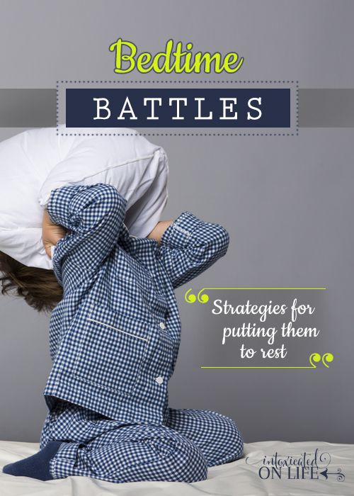 Here are strategies to conquer bedtime battles!