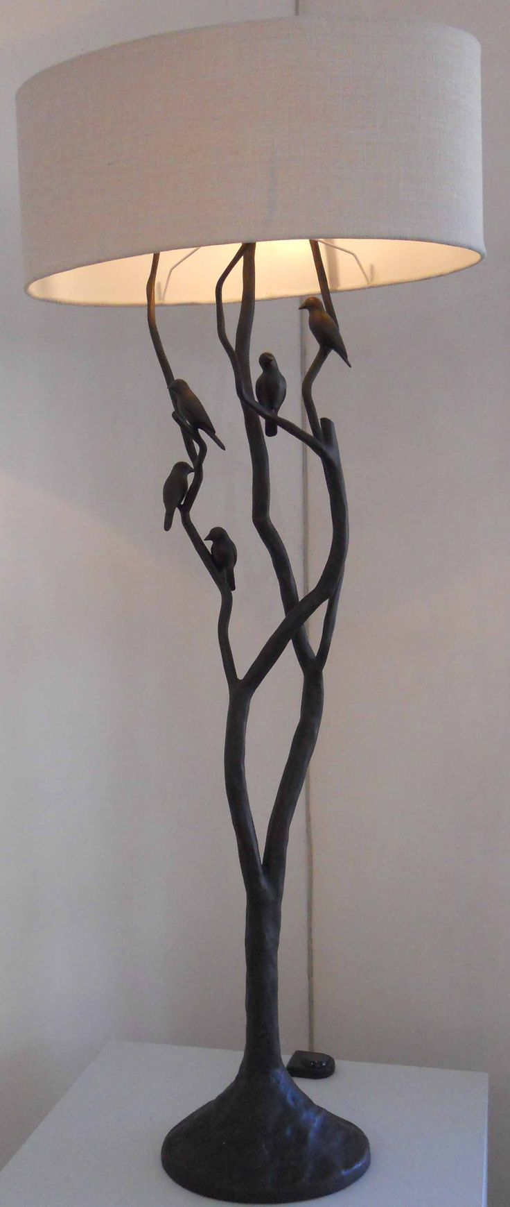 An original lamp by Trevor Opperman. For more please visit: www.finearts.co.za