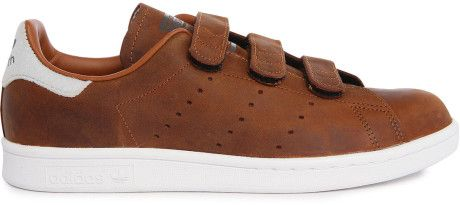 Adidas Stan Smith Chocolate Velcro Sneakers in Brown for Men (chocolate)