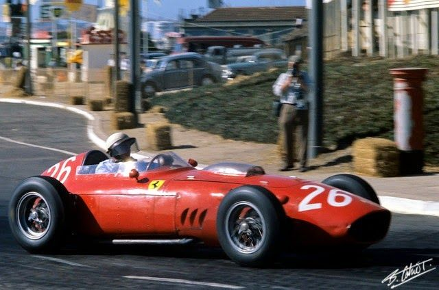 Phil Hill 1960 GP Portugal Ferrari D246