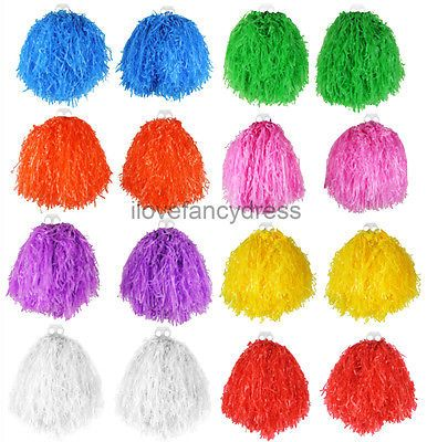 Jumbo usa pom poms #cheerleader fancy dress accessory #dance group #theatre shows,  View more on the LINK: http://www.zeppy.io/product/gb/2/301683298236/